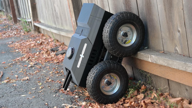 Freedom Robotics Rover on Fence